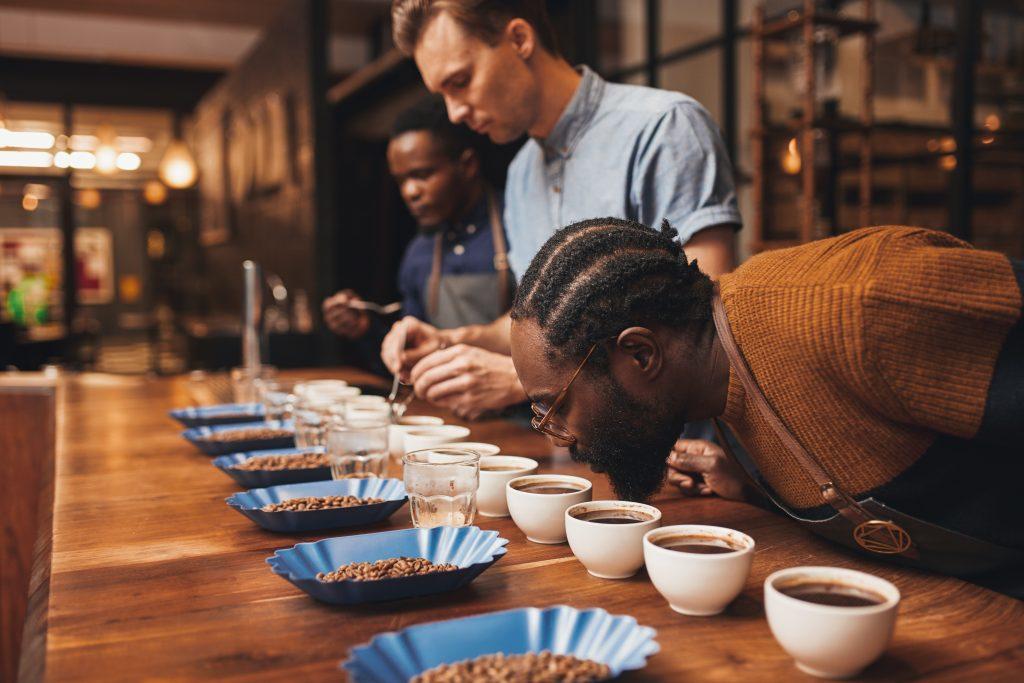 Degustación y calificación del café